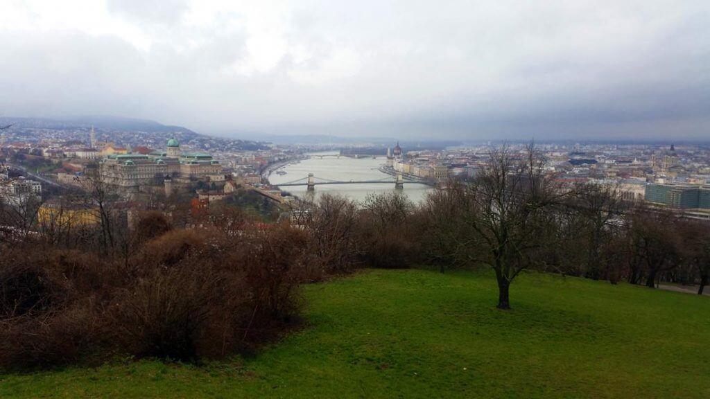 Özgürlük Anıtından Budapeşte