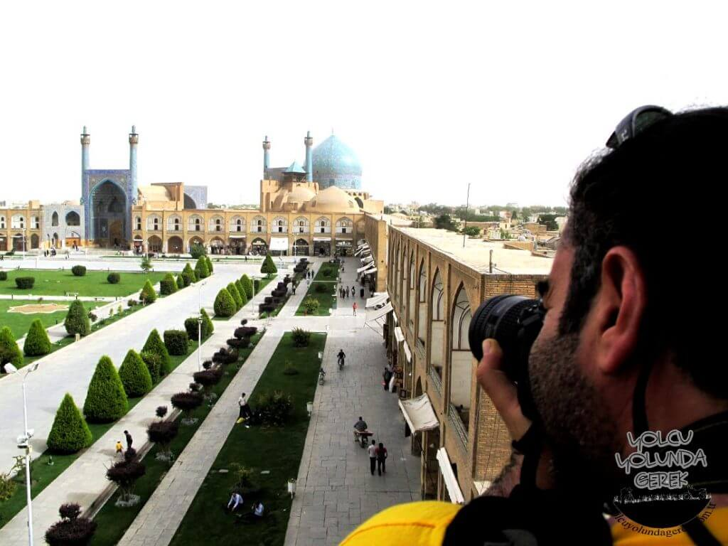 Meydan-ı Nakşi Cihan (İmam Meydanı), İsfahan...