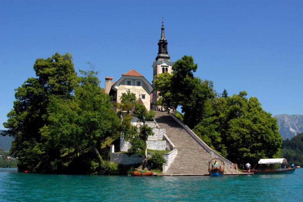 Bled Lake - St. Martin Kilisesi
