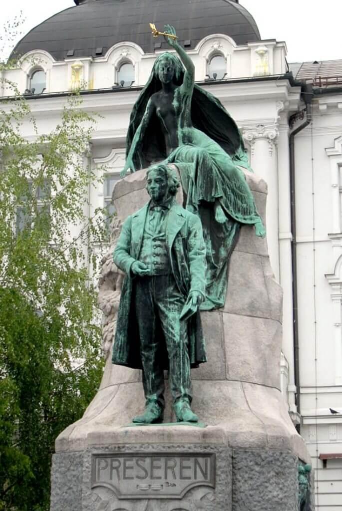 Ljubljana France Prešeren